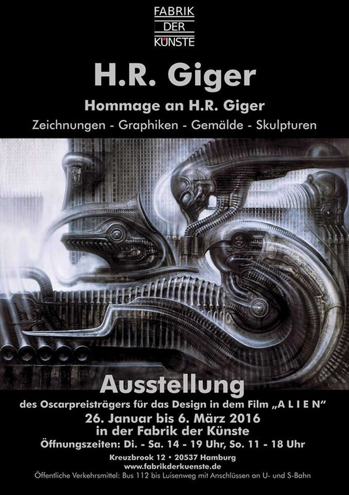 Homage to HR Giger - Exhibition in Hamburg