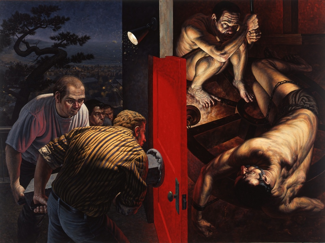 Red Door by F. Scott Hess