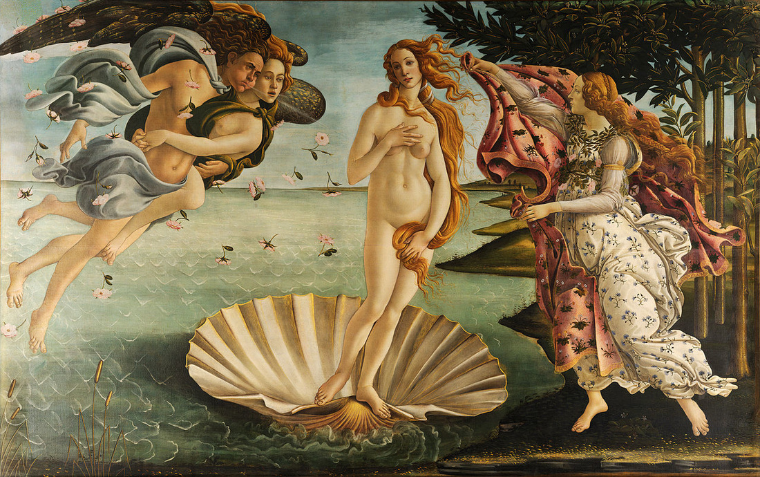Sandro Boticelli - The Birth of Venus