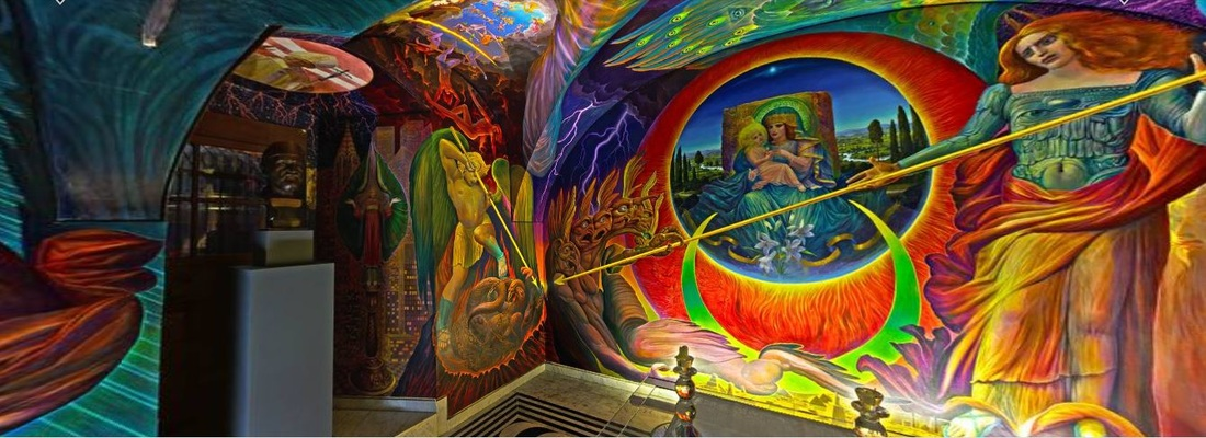​360° Panorama from the Apocalypse Chapel by Ernst Fuchs